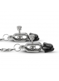 Зажимы на соски с цепочкой Easytoys Big Nipple Clamps With Chain - EDC Wholesale - купить с доставкой #SOTBIT_REGIONS_UF_V_REGION_NAME#