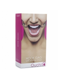 Розовый расширяющий кляп Hook Gag - Shots Media BV - купить с доставкой #SOTBIT_REGIONS_UF_V_REGION_NAME#