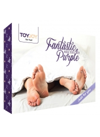 Эротический набор FANTASTIC PURPLE SEX TOY KIT - Toy Joy - купить с доставкой #SOTBIT_REGIONS_UF_V_REGION_NAME#