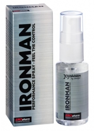 Пролонгатор-спрей для мужчин IRONMAN Spray - 30 мл. - Joy Division - купить с доставкой #SOTBIT_REGIONS_UF_V_REGION_NAME#