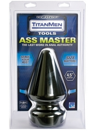 Огромный плуг Titanmen Tools Butt Plug 4.5  Diameter Ass Master - 23,1 см. - Doc Johnson