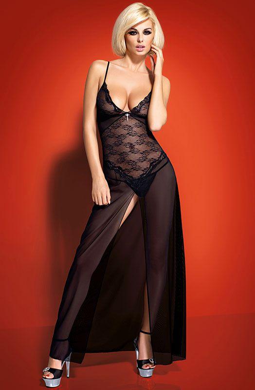 секси бизнес леди в вечернем платье фото