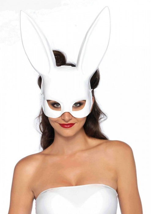 Маска кролика MASQUERADE RABBIT MASK - Leg Avenue купить с доставкой